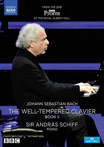 Schiff , Andras - Bach: The Well-Tempered Clavier Book II (Schiff) (DVD)