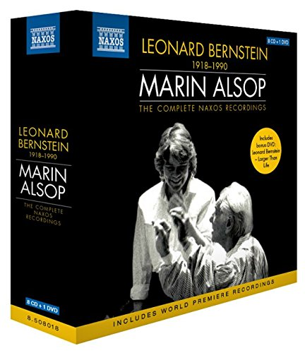 Bernstein , Leonard - The Complete NAXOS Recordings (8CD 1DVD)