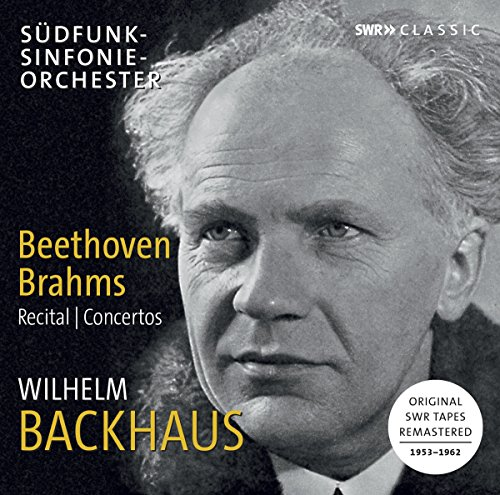 Backhaus , Wilhelm - Beethoven Brahms - Recital & Concertos (Remastered)