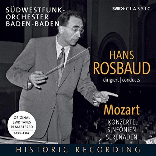 Rosbaud , Hans - Mozart - Konzerte, Sinfonien, Serenaden (1951-1962) (Remastered)