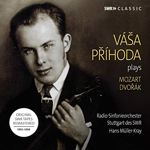 Prihoda , Vasa - Plays Mozart / Dvorak (Müller-Kray)