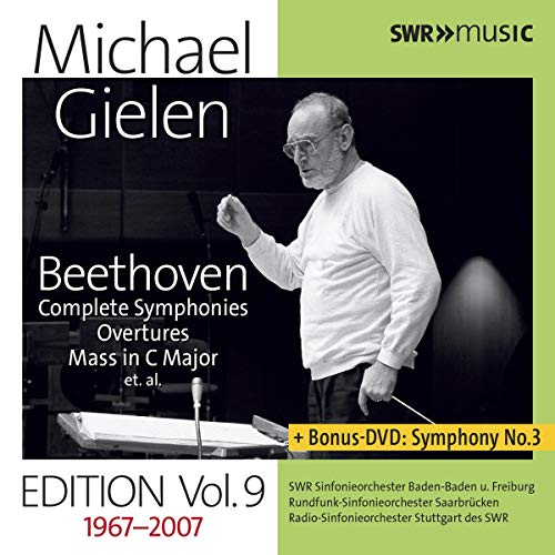Gielen , Michael - Beethoven: Complete Symphonies / Overtures / Mass In C Major Et. Al. (9CD 1DVD BOX SET)