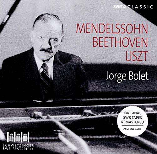 Bolet , Jorge - Mendelssohn Beethoven Liszt (Recital 1988) (Remastered)