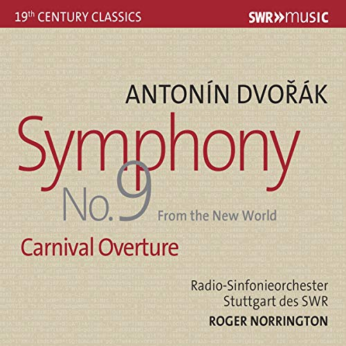 Dvorak , Antonin - Symphony No. 9 'From The New World' / Carnival Overture (Norrington)