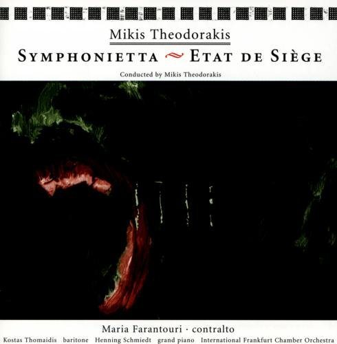 Theodorakis , Mikis - Symphonietta / Etat de Siege (Maria Farantouri)
