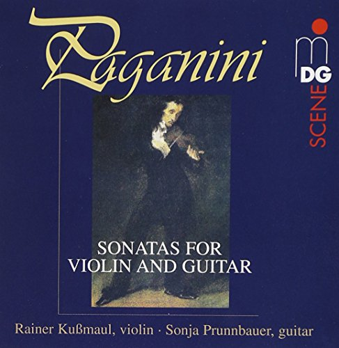 Paganini , Niccolo - Sonatas For Violin And Guitar (Kußmaul, Prunnbauer)