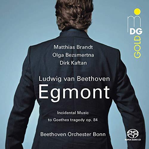Beethoven , Ludwig van - Egmont - Incidental Music To Goethes Tragedy. Op. 84 (Brandt, Bezsmertna, Kaftan, Beethoven Orchester Bonn) (SACD)