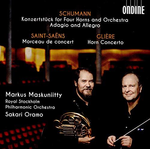 Maskuniitty , Markus & Oramo , Sakari & RSPO - Musik Für Horn und Orchester