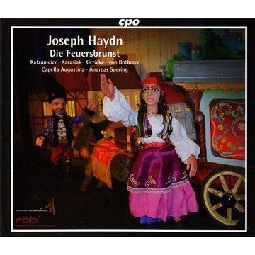 Haydn , Joseph - Die Feuersbrunst (Katzameier, Karasiak, Gericke, von Bothmer, Capella Augustina, Spering)
