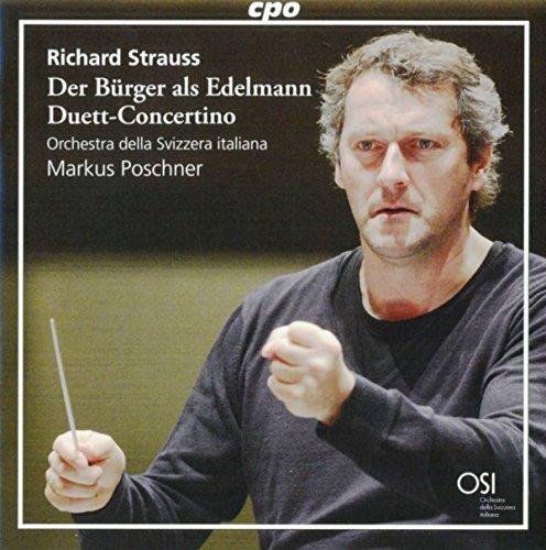 Strauss , Richard - Der Bürger als Edelmann, Op. 60 / Duett-Concertino (Poschner)