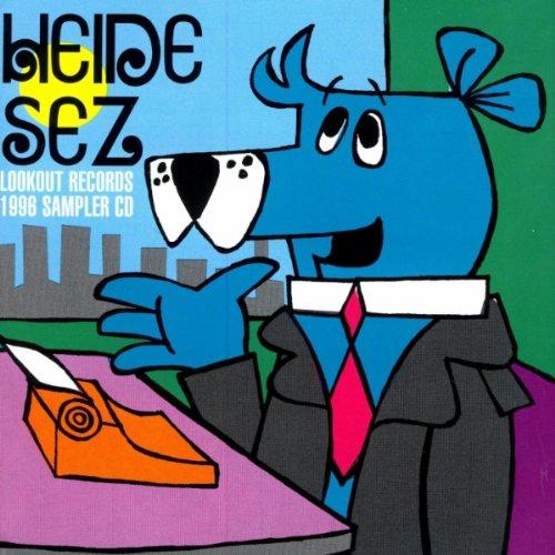 Sampler - Heide Sez - Lookout Records 1996 Sampler CD