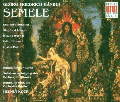 Händel , Georg Friedrich - Semele (GA) (Büchner, Lorenz, Werner, Hübner, Pohl, Koch)