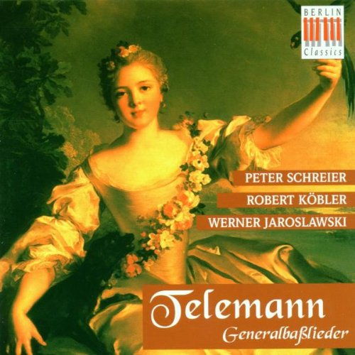 Telemann , Georg Philipp - Generalbaßlieder (Schreier, Köbler, Jaroslawski)
