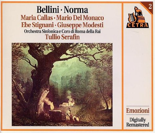 Bellini , Vincenzo - Norma (Callas, Serafin)(US-Import)