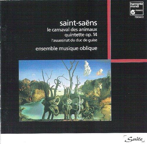 Saint-Saens , Camille - Le Carnaval des Animaux (Ensemble Musique Oblique)