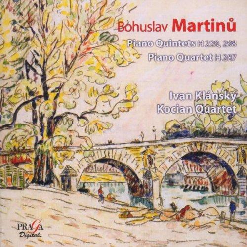 Martinu , Bohuslav - Piano Quintets, H 229, 298 / Piano Quartet, H 287 (Klansky, Kocian Quartet) (SACD)