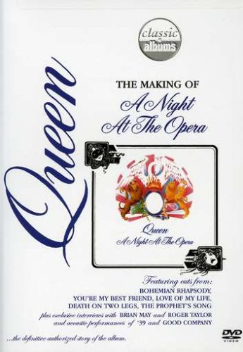 DVD - Queen - The Making of A Night at the Opera