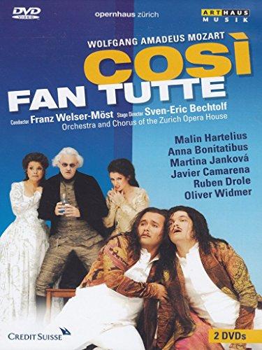 Mozart , Wolfgang Amadeus - Cosi Fan Tutte (Welser-Möst, Hartelius, Bonitatibus, Jankova, Camarena, Drole, Widmer)
