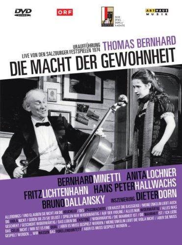 DVD - Bernhard: Die Macht der Gewohnheit (Minetti, Lochner, Lichtenhahn, Hallwachs, Dallansky, Dorn)