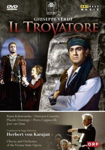 Verdi , Giuseppe - Il Trovatore (Domingo, Karajan)