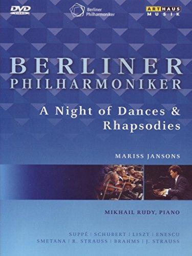 Jansons , Mariss & Berliner Philharmoniker - A Night Of Dances & Rhapsodies - Suppe / Schubert / Liszt / Enescu / Smetana / Strauss / Brahms / Strauss (Mikhail Rudy)