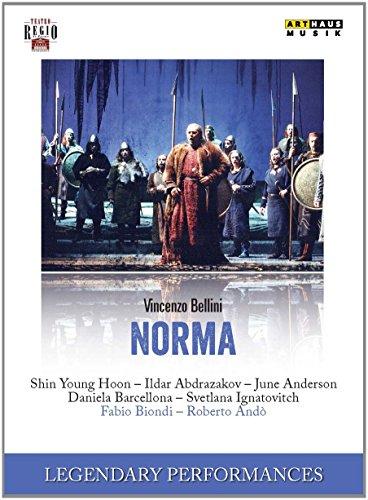 Bellini , Vincenzo - Norma (Hoon, Abdrazakov, Anderson, Barcellona, Ignatovich, Biondi, Ando) (Legendary Performances)