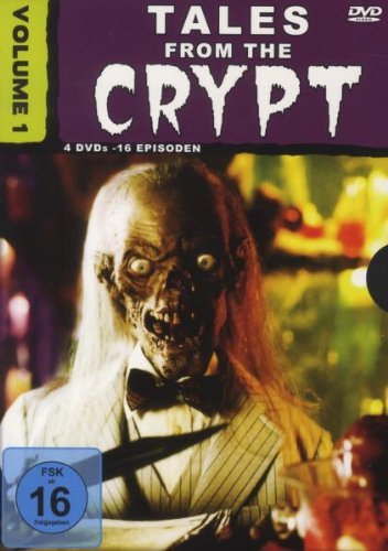 DVD - Tales From The Crypt Volume 1 (4DVDs-16Episoden)