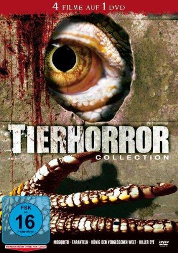 DVD - Tierhorror Collection (Mosquito / Taranteln / König der vergessenen Welt / Killer Eye) (4 Filme auf 1 DVD