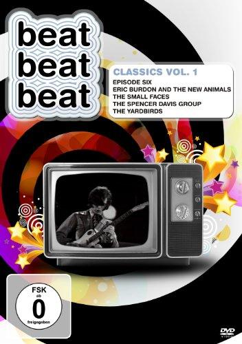 DVD - Beat Beat Beat - Classics Vol. 1 (Episode Six / Eric Burdon And The New Animals / The Small Faces / The Spencer Davis Group / The Yardbirds)