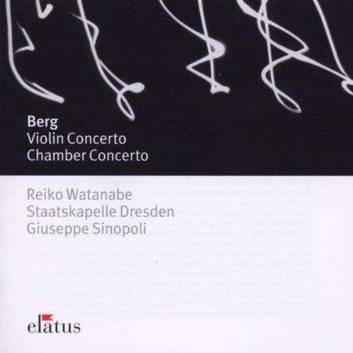 Berg , Alban - Violin Concerto / Chamber Concerto (Watanabe, Sinopoli)