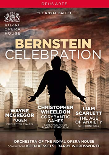 DVD - Bernstein Celebration - Yugen / The Age Of Anxiety / Corybantic Games (Royal Opera House)