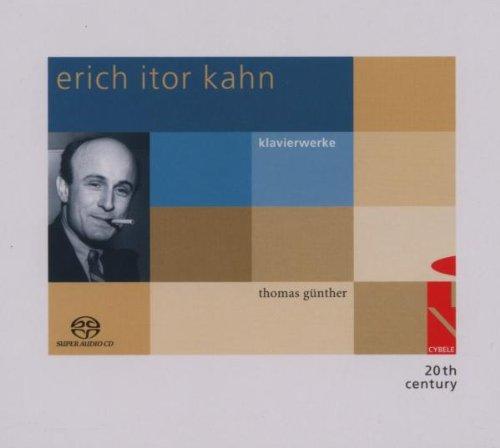 Kahn , Erich Itor - Klavierwerke (Günther) (SACD)