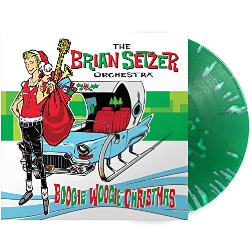 Brian Setzer Orchestra , The - Boogie Woogie Christmas (Limited Edition) (Green/White Splatter) (Vinyl)