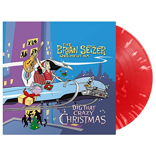 Brian Setzer Orchestra , The - Dig That Crazy Christmas (Limited Edition) (Red/White Splatter) (Vinyl)