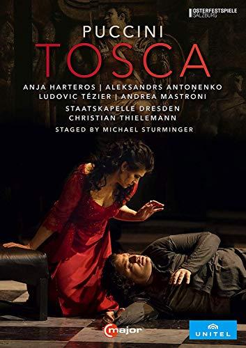 Puccini , Giacomo - Tosca (Harteros, Antonenko, Tezier, Mastroni, Thielemann) (DVD)