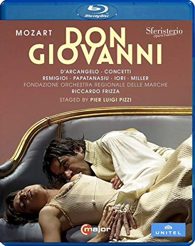 Mozart , Wolfgang Amadeus - Don Giovanni (D'Arcangelo, Concetti, Remigioi, Papatanasiu, Iori, Miller, Frizza, Pizzi) (Blu-ray)