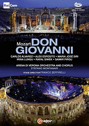 Montanari , Stefano & Arena Di Verona Orchestra And Chorus - Don Giovanni (Arena di Verona, 2015) [2 DVDs]
