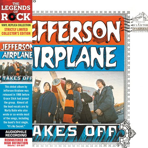Jefferson Airplane - Takes Off (Remastered) (Strictly Limited Collector's Edition)