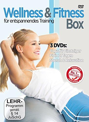 DVD - Wellness & Fitness Box (Yoga für Einsteiger / Fit in 21 Tagen / Stretch & Relaxation)