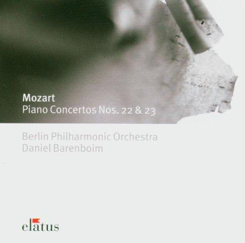 Mozart , Wolfgang Amadeus - Piano Concertos Nos. 22 & 23 (Barenboim & BP)