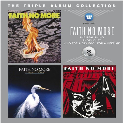 Faith No More - The Triple Album Collection (The Real Thing / Angel Dust / King For A Day Fool For A Lifetime)