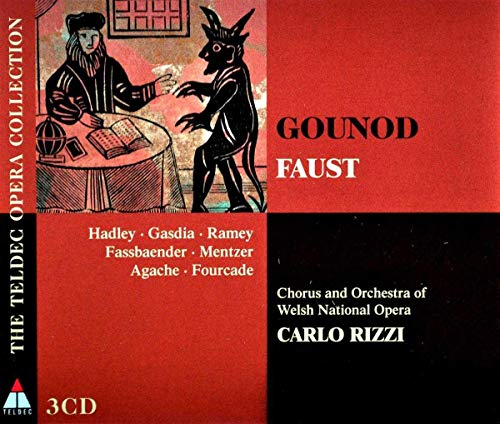 Gounod , Charles - Faust (GA) (Hadley, Gasdia, Ramey, Fassbaender, Mentzer, Agache, Fourcade, Rizzi)