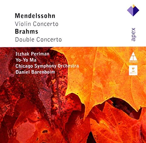 Barenboim , Daniel & CSO - Brahms: Double Concerto / Mendelssohn: Violin Concerto (Perlman, Yo-Yo Ma, barenboim, CSO)