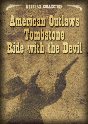 DVD - Western Collection (American Outlaws, Tombstone, Ride With The Devil)
