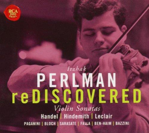 Perlman , Itzhak - reDiscovered - Violin Sonatas By Händel, Hindemith, Leclair, Paganini, Bloch, Saraste, Falla, Ben-Haim, Bazzini