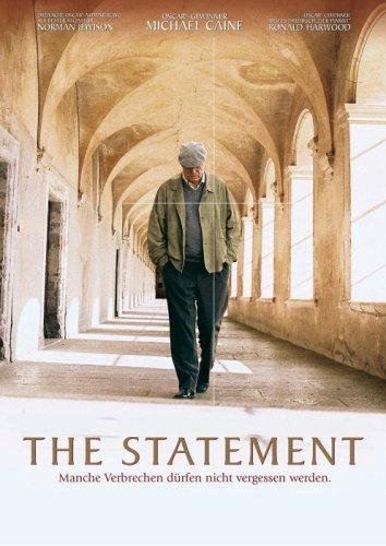 DVD - The Statement - Manche Verbrechen dürfen nicht vergessen werden.