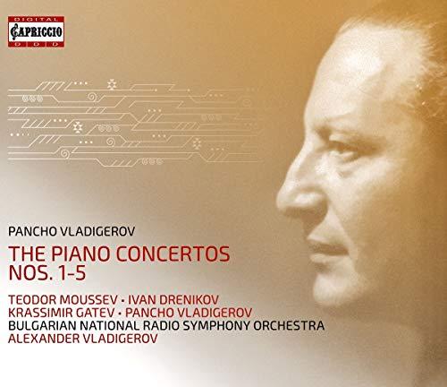 Vladigerov , Pancho - The Piano Concertos Nos. 1-5 (Moussev, Drenikov, Gatev, Vladigerov)