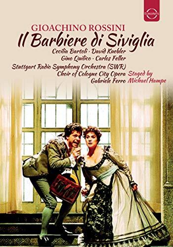 Rossini , Gioacchino - Il Barbiere Di Siviglia (88) (Bartoli, Kuebler, Quilico, Feller, Ferro, Hampe)