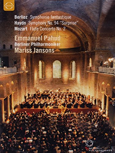 Pahud , Emmanuel - Berlioz: Symphonie Fantastique / Haydn: Symphony No. 94 'Surprise' / Mozart: Flute Concerto No. 2 (Pahud, Jansons, BP)