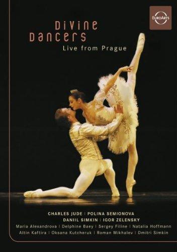 DVD - Divine Dancers - Live From Prague (Jude, Semionova, Simkin, Zelensky)